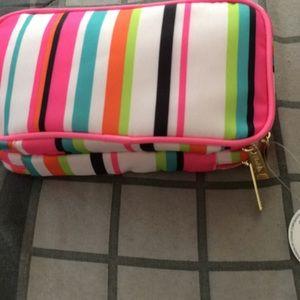 Modella  double zip organizer bag